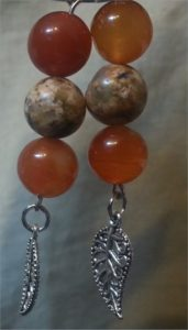 red agate and stone