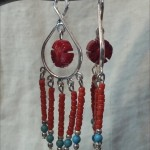 Cinnabar and Red Howlite