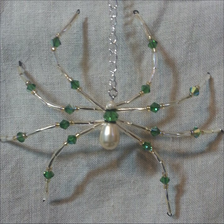 Beaded Spiders Plus a Big Sale