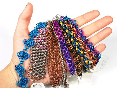 chain maille weaves