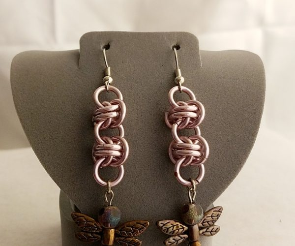 Chain Maille Earrings