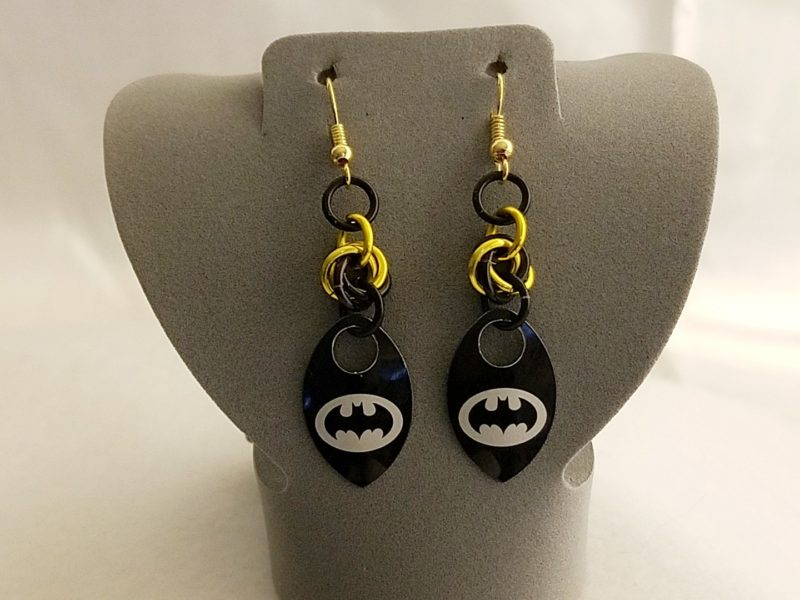 Hero Scale Earrings